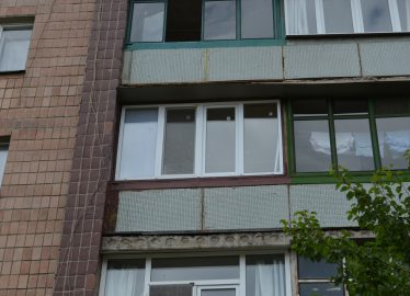Харьков Лоджия ул. Москалевская