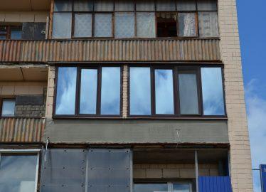 Харьков Рама Балконная Двусторонняя Ламинация