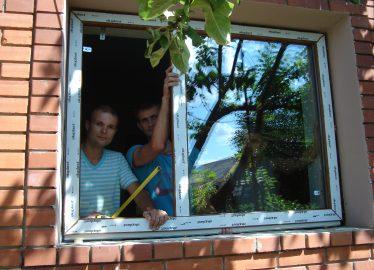 Как мы ставим окна Чугуев