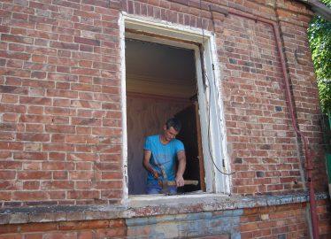 Как мы ставим окно Харьков