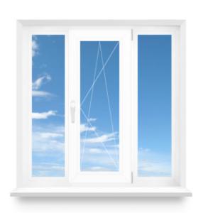 Купить трехстворчатое окно